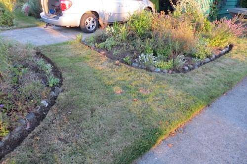 it's not the prettiest lawn....