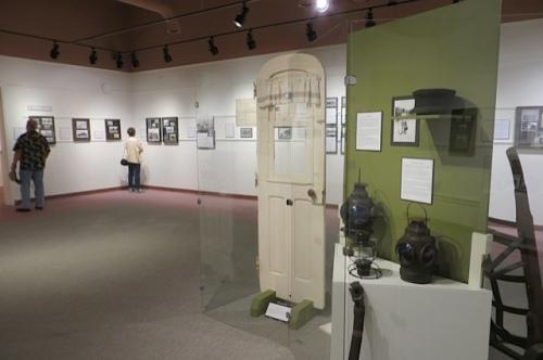 train exhibit at the museum