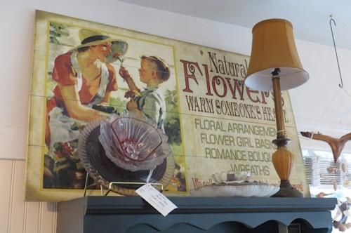 Natural Nook is also a florist shop.