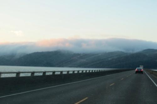 north on the four mile bridge