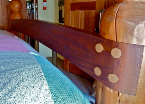 headboard detail, Allan's photo