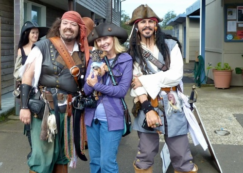 Donna and the pirates.