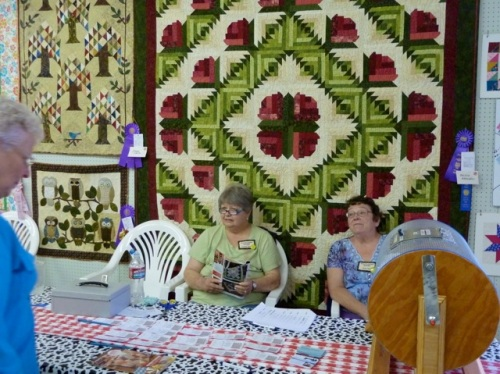 quilts, photo by Allan