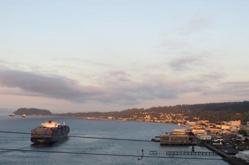 ship and Astoria