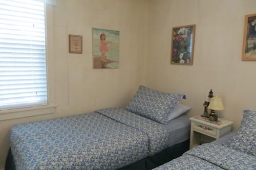 a sweet cottage bedroom