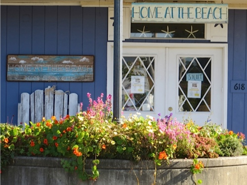 still a tangle of colour by Home at the Beach