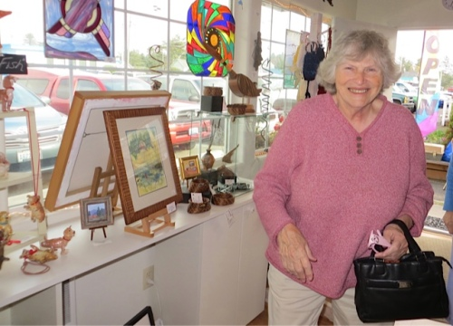 local writer Birdie Etchison of the Olde Towne writers group