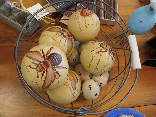 "The owner, Bonnie, had described this new item as ""insect balls"" and then thought...oops!"