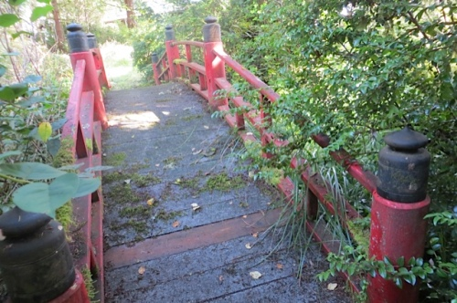 and the red bridge