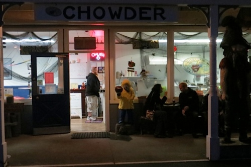chowder after dark