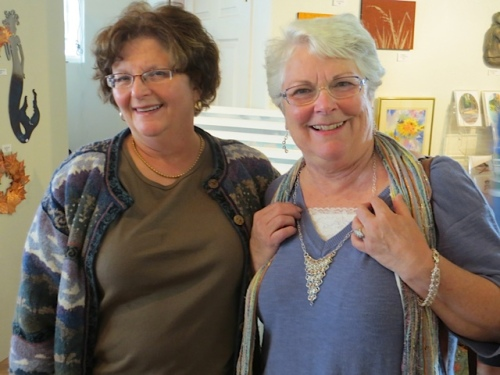 Charlene and Debbie, regular blog readers!