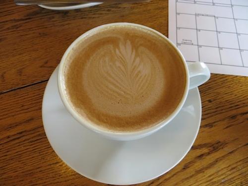 Allan's artistic latte
