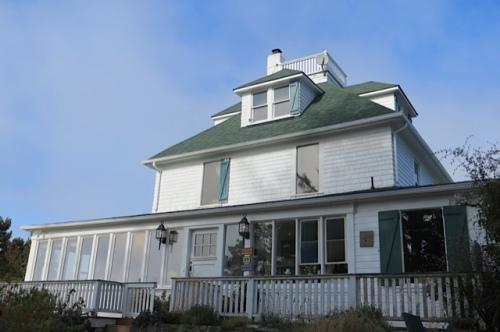 house with widow's walk