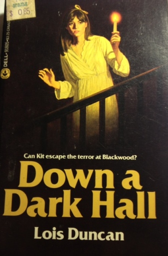 I always think of this suspense book that is in my collection.