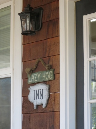 I love Tom and Judy's porch sign
