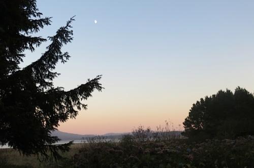 6:14 PM:  18 minutes till sunset