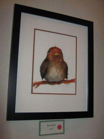This little bird:  sold.