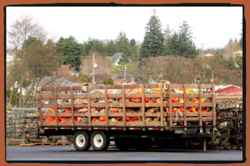 a truckload of floats