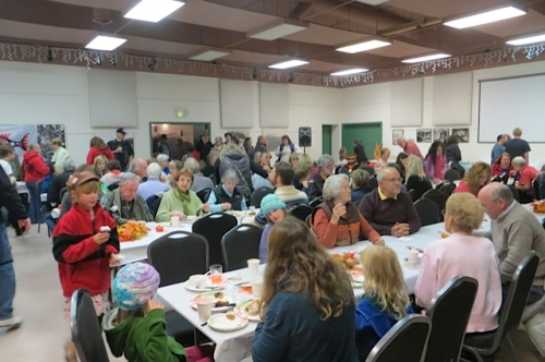 Chinook Indian Nation dinner