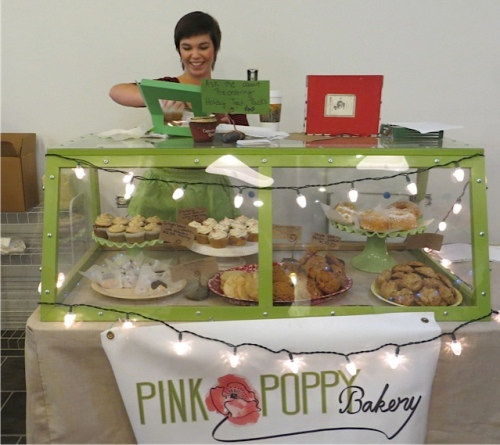 Pink Poppy Bakery, soon to have a shop by the Long Beach Arch!