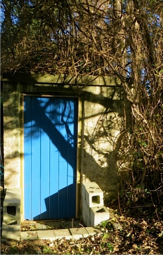 and the matching pump house door