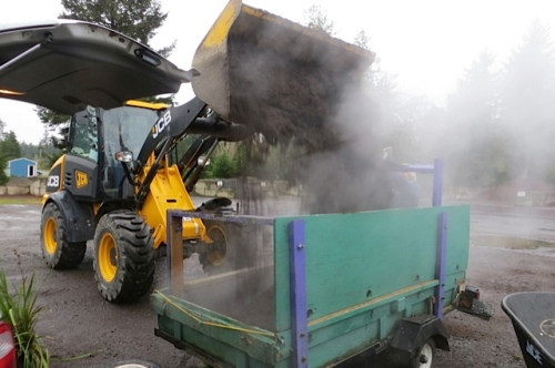 getting a load of Soil Energy at Peninsula Landscape Supply