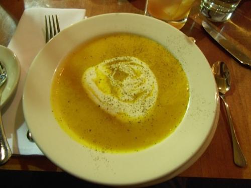 delicious squash soup