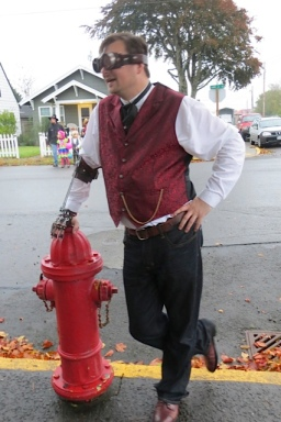 a steampunk gentleman