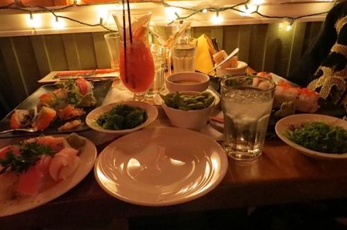 a lavish table