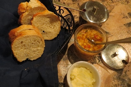 bread and corn relish