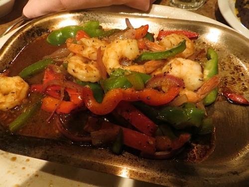 shrimp (prawn) fajita