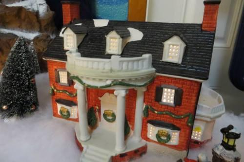 a grand house