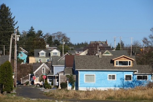 houses of blue