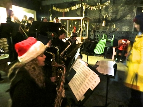 Ilwaco High School Jazz Band