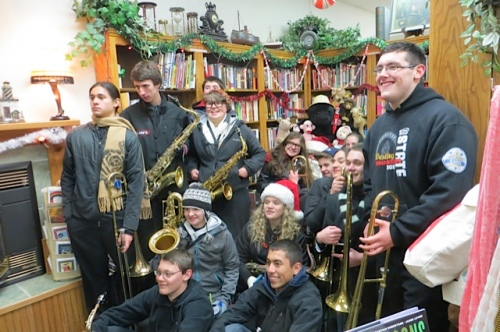 and the jazz band