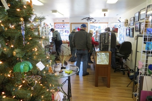 This shop of local arts and crafts will be the February cash mob site.