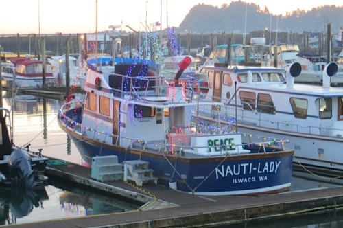 Nauti-lady always goes all out for the holidays.