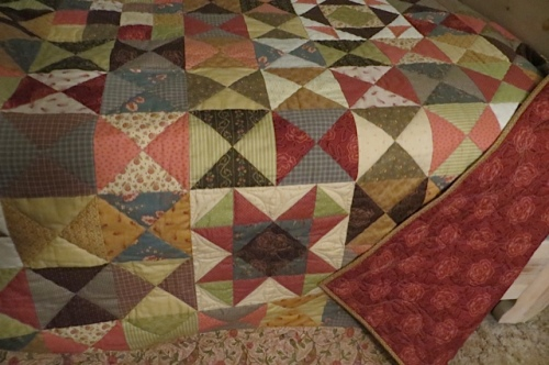 and the glorious quilt