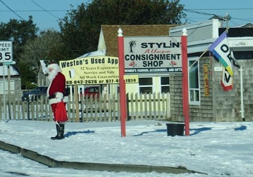 Santa at Stylin'