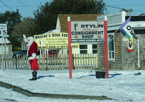 Santa at Stylin'