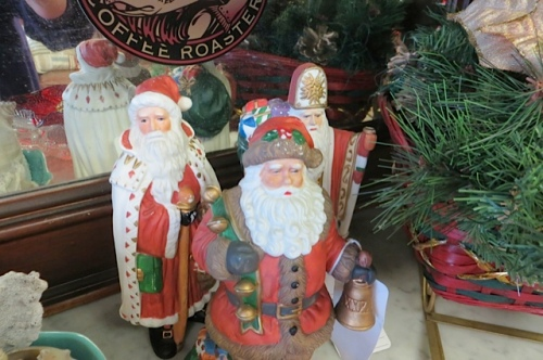 a Santa selection at Olde Towne