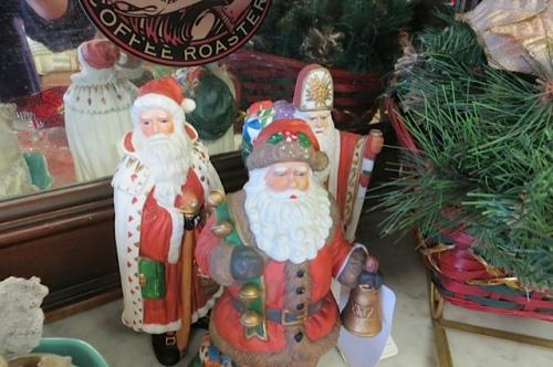 a Santa selection at Olde Towne