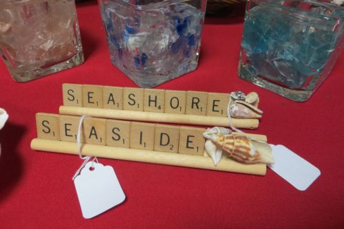 beachy scrabble racks