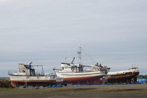 a boatyard