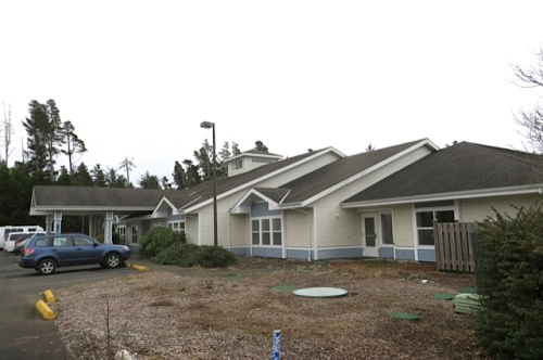 Golden Sands Assisted Living from the outside