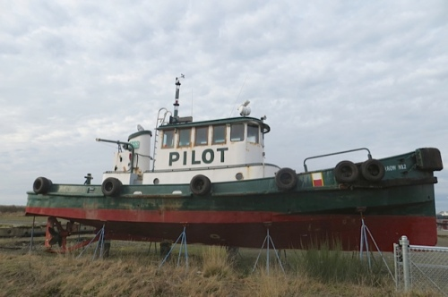 a retired pilot boat
