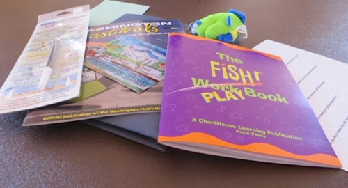 The Fish Work/Play book