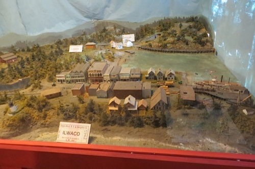 model of Ilwaco