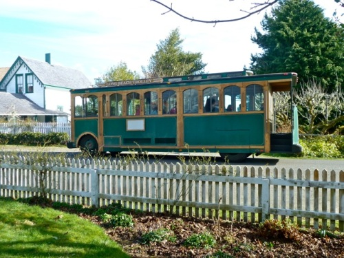 Allan's photo of the trolley