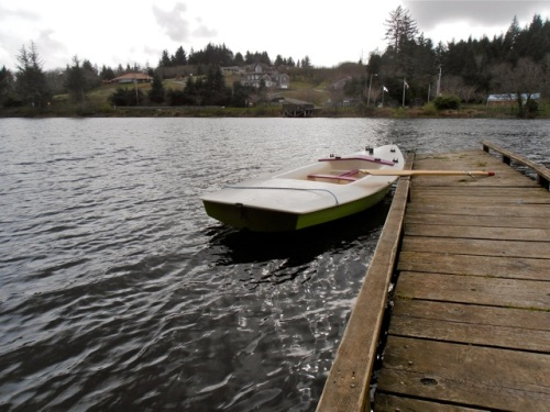 Allan's boat